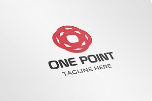 One Point Corporate Logo Template