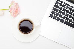 Coffee break. Styled image