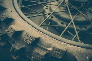 WW2 Motorcycle Wheel