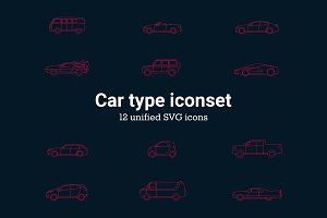 Car Type Iconset