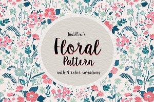 Floral Pattern Set 3