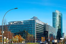Financial district of Berlin, Germany
