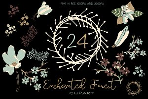 Enchanted Forest Clip Art