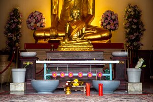 a place for Buddhist ritual