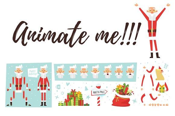 Santa for animation