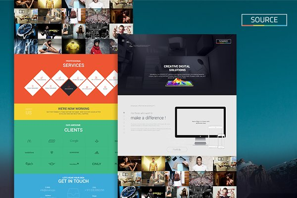 Landing Page Templates - Creative Digital Solutions Website