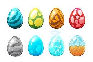 Game UI elements - eggs