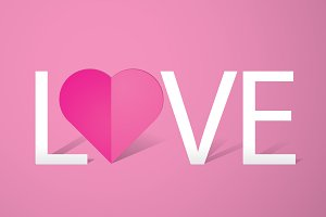 love template vector