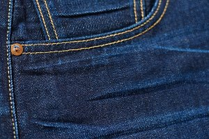 Blue Denim Pocket Background