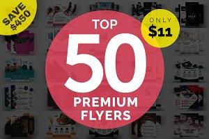 Top 50 Premium Flyers bundle