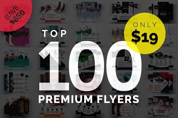 TOP 100 PREMIUM Flyers Templates