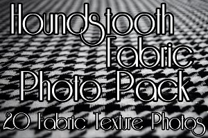 Houndstooth Fabric Photo Pack