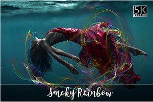 5K Smoky Rainbow Overlays