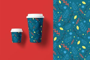 Christmas Floral Patterns