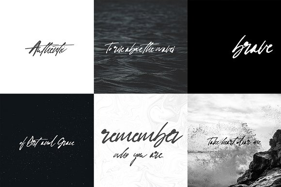 Heart + Soul | Handwritten Font in Handwriting Fonts - product preview 6