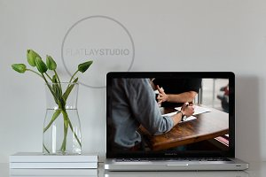 STYLED DESKTOP - MACBOOK MOCKUP #66