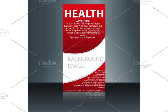 medical brochure flyer design template a4 size medical brochure template