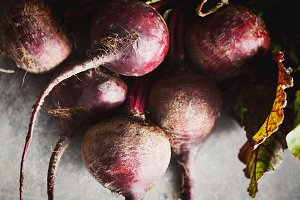 Fresh Beets, Natural light