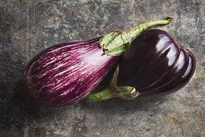 Sicilian and Globe Eggplants