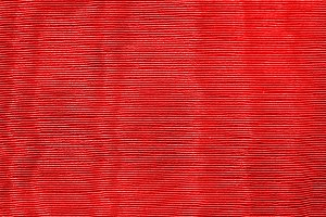 Red Textured Fabric Background