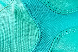 Teal Textured Fabric