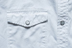 White Shirt Pocket Closeup