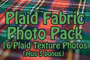 Plaid Fabric Textures Photo Pack