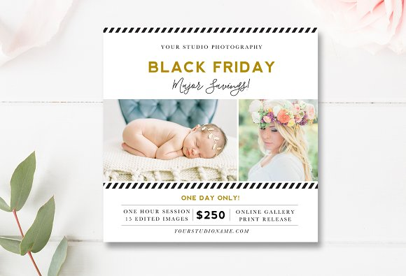 Black Friday Sale Flyer Template in Flyer Templates
