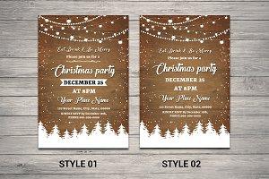 Christmas Party Flyer - V692