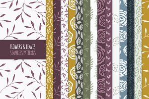 97 Floral Seamless Patterns