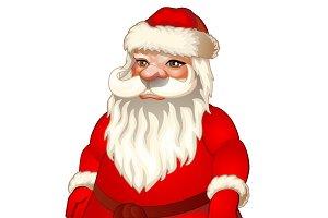 Santa Claus. Vector.