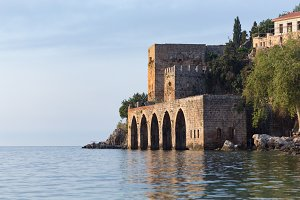 Medieval shipyard of Alanya