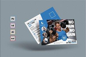 Fitness Postcard #2