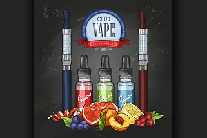 Sketch vaporizer cigarette