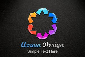 Arrow design Logo