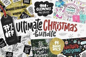 Ultimate Christmas Bundle: 77% OFF