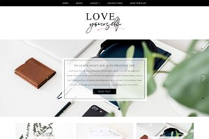 Love Yourself Wordpress Theme