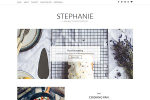 Stephanie Blogger Template