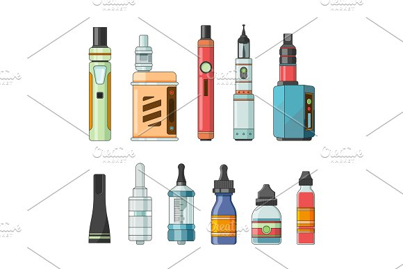 E cigarettes and different electric tools for vaping
