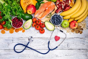 Healthy food for heart