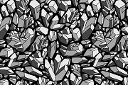 15 seamless pattern with stones
