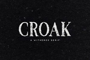 Croak Typeface