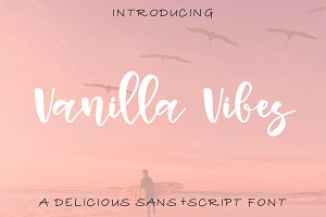 Vanilla Vibes Font Duo