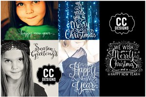 Season Greetings Word Text Graphics