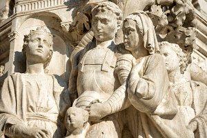 sculpture at San Marco Piazza