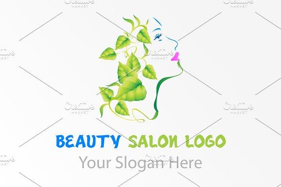 Natural beauty salon logo logo templates creative market thecheapjerseys Gallery