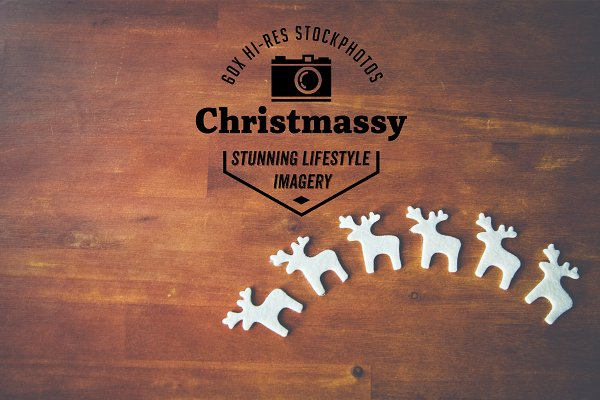 60x hi-res christmassy stock images