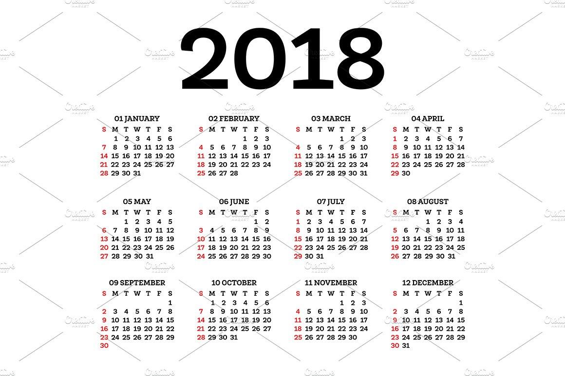 Calendar Template Keynote