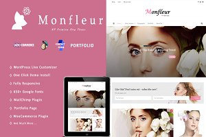 80% OFF Monfleur - WordPress Theme