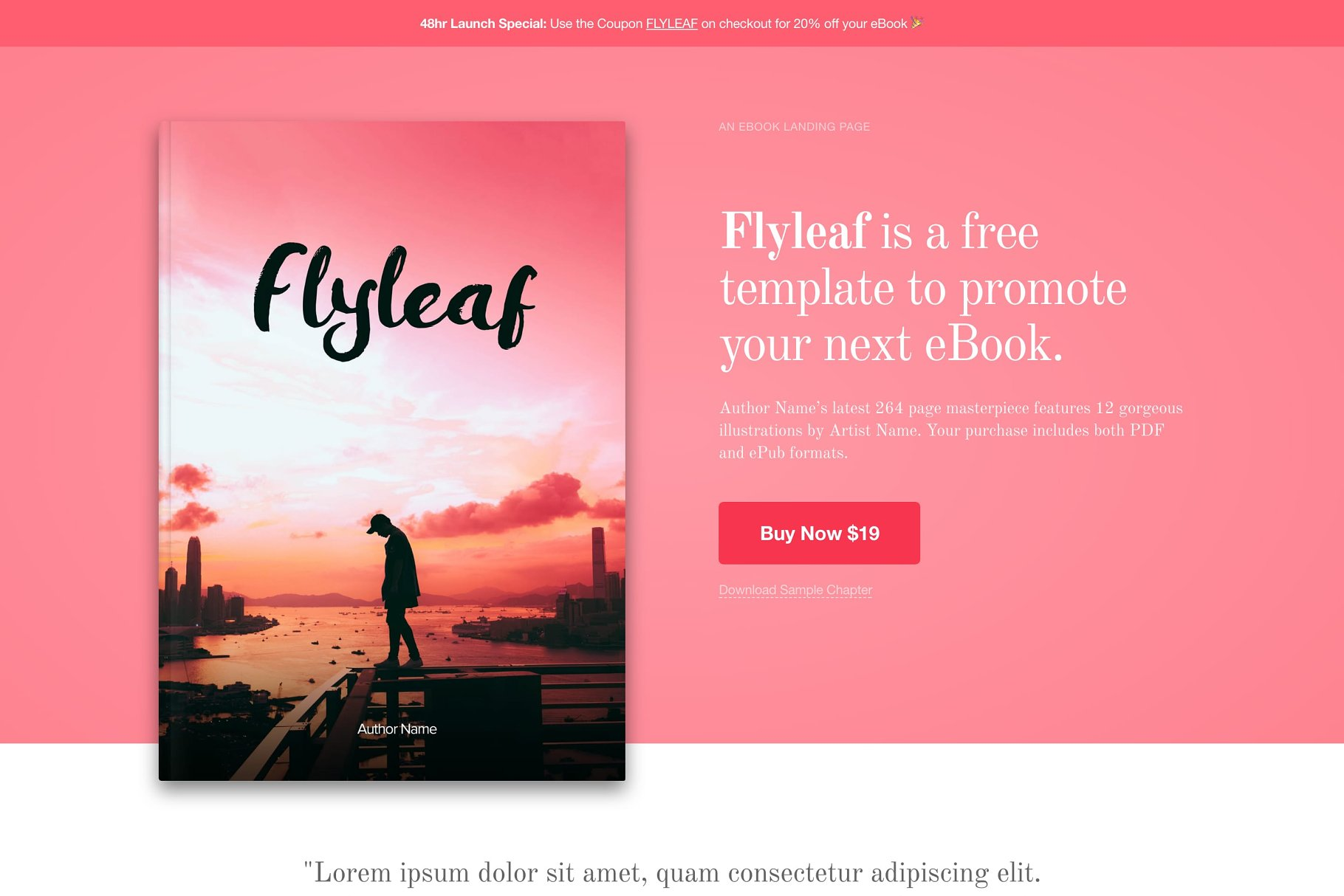 Magnificent epub template picture collection documentation flyleaf ebook wordpress theme wordpress themes creative fandeluxe Gallery